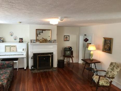 Note the original Virginia pine floors